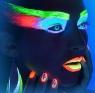Hera ultraviolet (светящиеся в неоне) без диоптрий