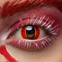 Cat eye reddish brown