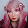 Anime yandere pink
