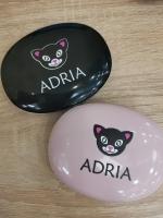 """Дорожный набор два контейнера ADRIA """"овальный"""""""