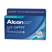 Air Optix plus HudraGlyde 6pk