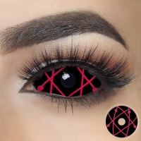 Sclera Red star trails