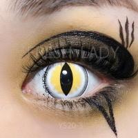 Sexy cat eye yellow