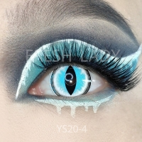 Sexy cat eye blue